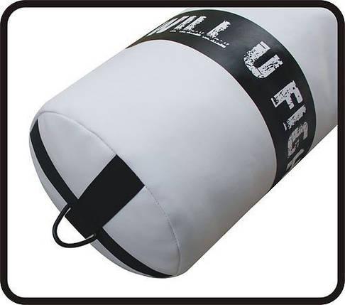 Боксерский мешок RDX Leather White 1.2м, 40-50 кг, фото 2
