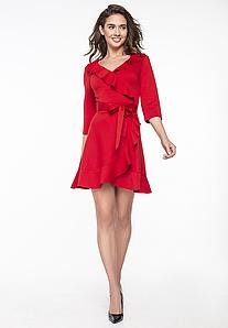 """Красное платье """"Анси Ред"""""""