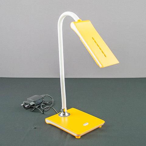 Настольная лампа «Араваки» желтая WT036 LED 5W YL USB
