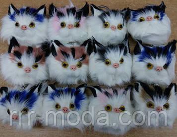 Пушистые коты - брелки, опт. Брелки для сумок и ключей 57