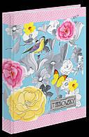 """Блокнот интегральный А5""""Turnowsky. Art birds""""64 стр YES, 151377"""