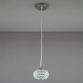 Люстра подвес на одну лампу LS-811279 CH/CL