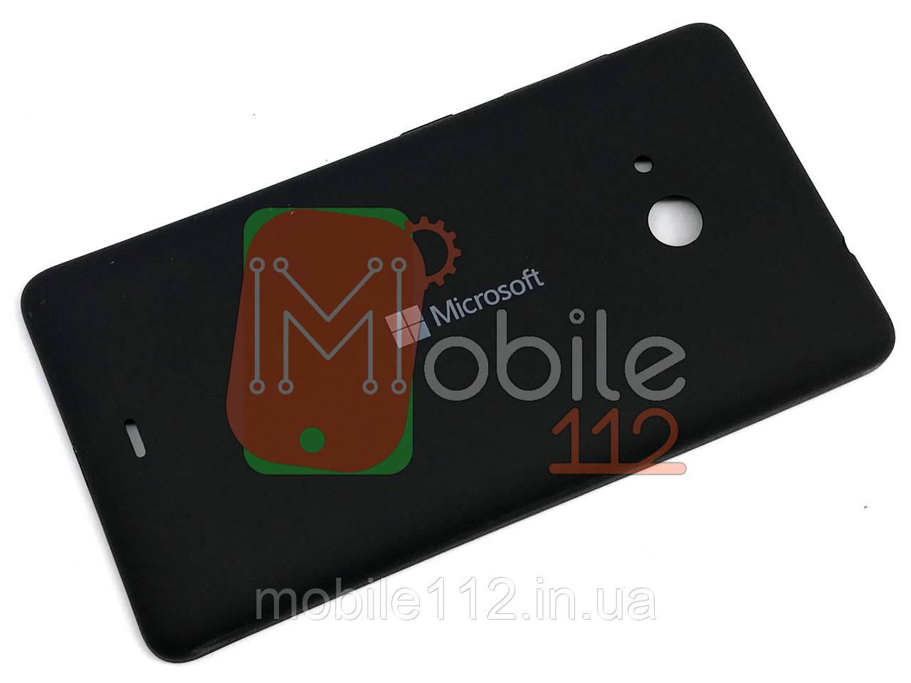 Задняя крышка Microsoft 535 Lumia Dual Sim (RM-1090), черная