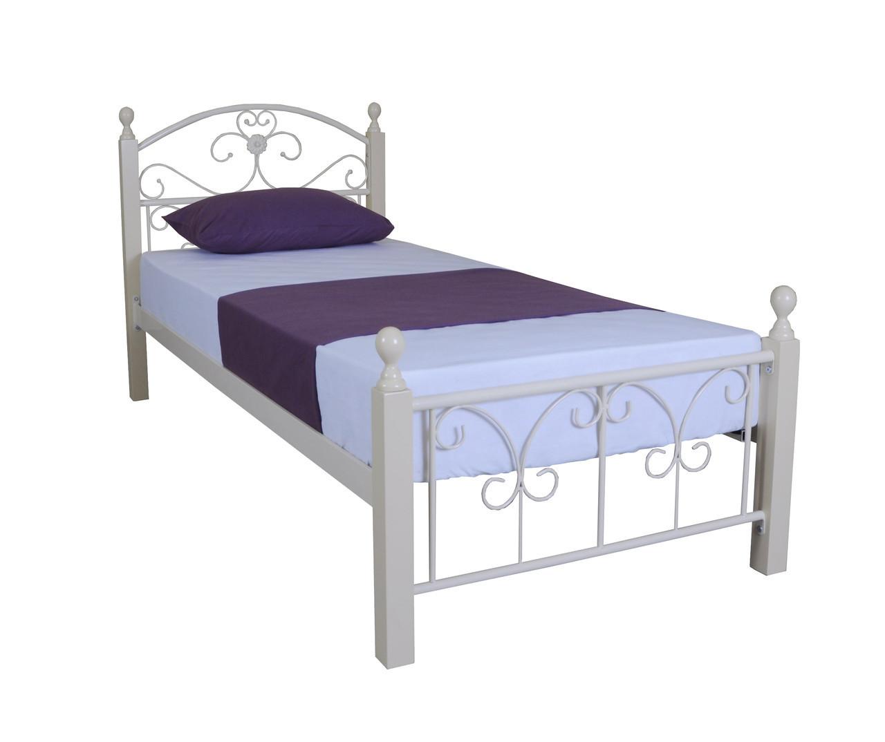 Кровать Патриция Вуд односпальная 90х190 см ТМ Melbi
