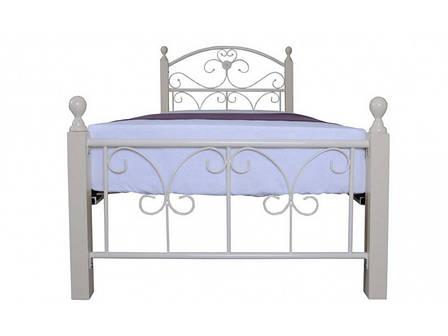 Кровать Патриция Вуд односпальная 90х190 см ТМ Melbi, фото 2
