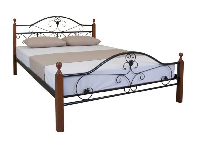 Кровать Патриция Вуд двуспальная 140х190 см ТМMelbi