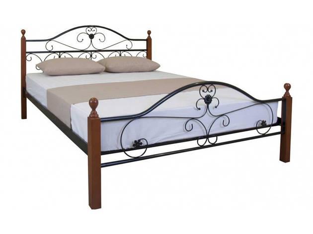 ✅Ліжко Патриція Вуд двоспальне 140х190 см ТМ Melbi, фото 2