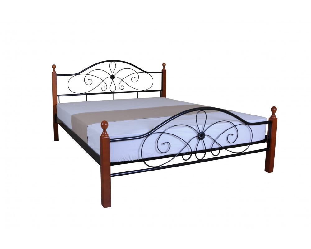 Кровать Фелиция Вуд двуспальная 140х190 см ТМMelbi