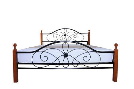Кровать Фелиция Вуд двуспальная 140х190 см ТМMelbi, фото 2