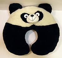 Декоративная подушка-рогалик для шеи Панда По
