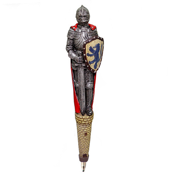 Сувенирная ручка Рыцарь в доспехах