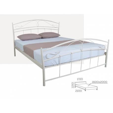 Кровать Селена двуспальная 120х190 см ТМ Melbi