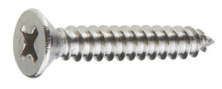 Саморез по металлу с потайной головкой 3.9х38 (упаковка 1000/500 шт.)