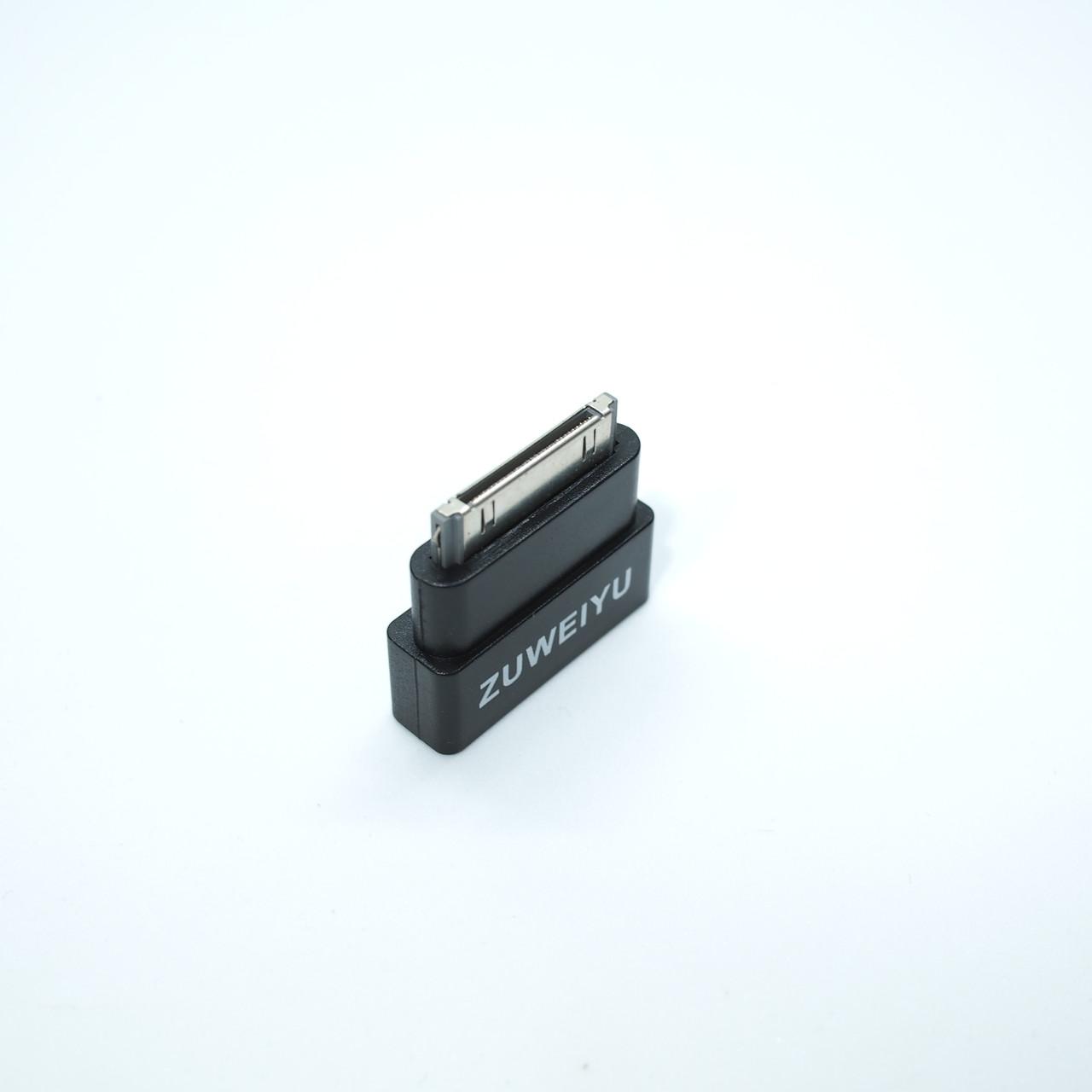 Переходники и адаптеры Адаптер 30-pin Zuweiyu black