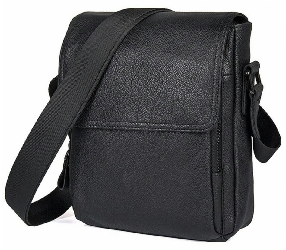 Сумка-мессенджер Tiding Bag 9811A, из натуральной кожи