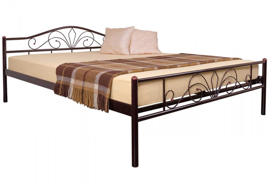Кровать Лара Люкс двуспальная 120х190 см ТМ Melbi