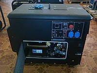 Дизельный генератор однофазный Q-Power PRO DG6000SE  5,0кВт 220В, фото 1