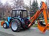 Трактор экскаватор белорус (Экскаватор, планировщик)