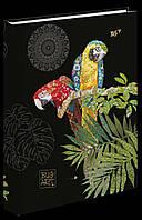 "БлокнотА5""BugArt. Black parrot"" 96стр YES, 151381"