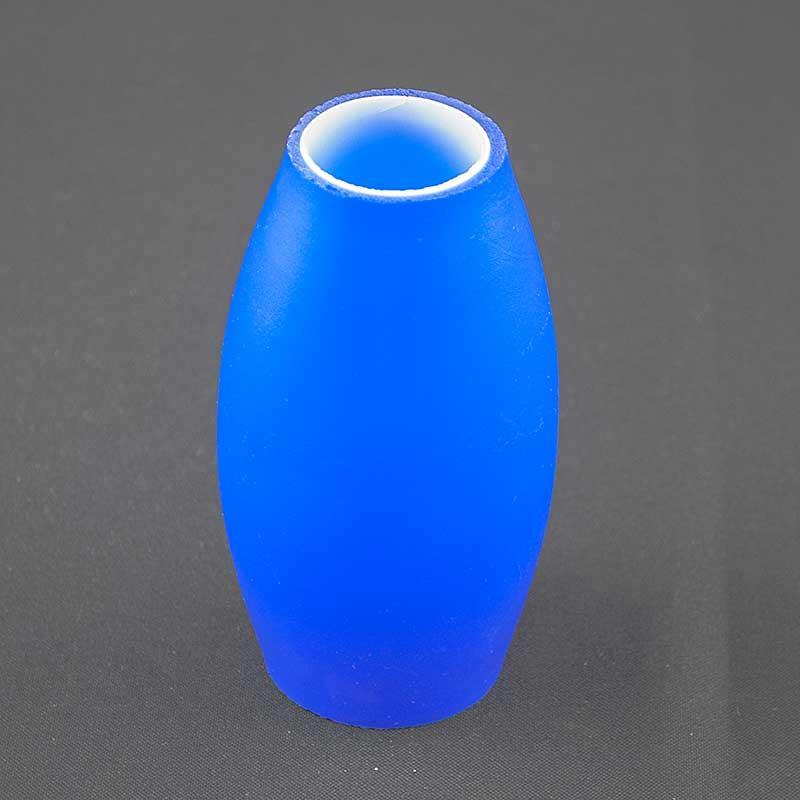 Плафон голубой цоколь Е-14 PL-9221  BL