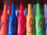 Бутылка  для флейринга .  Желтая (Арт. 9930)