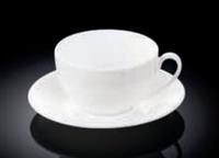 Чашка з блюдцем для чаю Wilmax 250 мл WL-993000