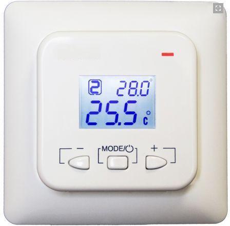 Электронный терморегуляторPROFITHERM-EX02 для теплых полов - двухзонный