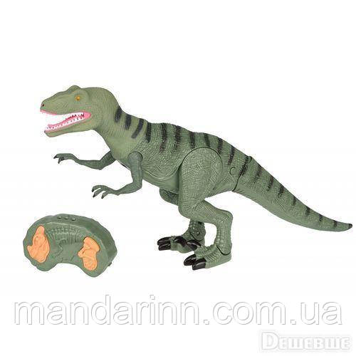 Динозавр на радіокеруванні RS 6126. Ходить. Крутить головою. Світло, Звук. Розмір 30см на 52см