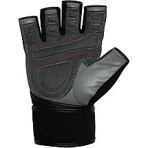 Перчатки для фитнеса RDX Pro Lift Black L, фото 3