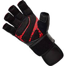 Перчатки для зала RDX Membran Pro XL, фото 2
