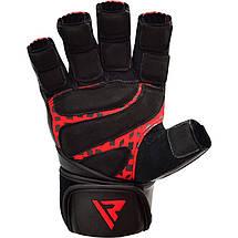 Перчатки для зала RDX Membran Pro XL, фото 3