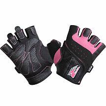 Перчатки для фитнеса женские RDX Pink L, фото 3
