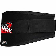 Пояс для тяжелой атлетики RDX Black XL, фото 2
