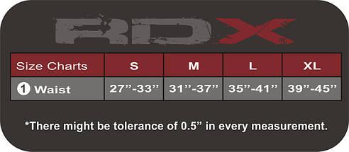 Пояс для тяжелой атлетики RDX Black XL, фото 3