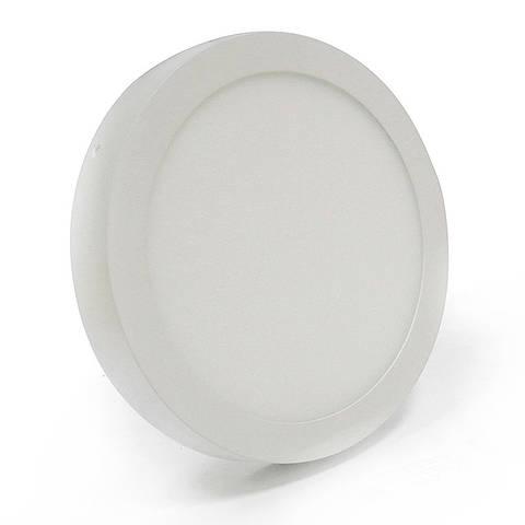 Светильник накладной круг LED 6 Вт теплый белый LED-461/2 6W 3000K WT