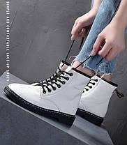 Відмінні лаковані черевики жіночі, фото 2