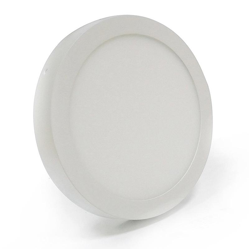 Светильник накладной круг LED 12 Вт теплый белый LED-462/2 12W 3000K WT