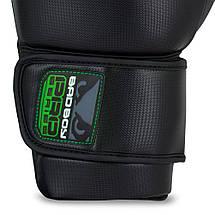 Боксерские перчатки Bad Boy Pro Series 3.0 Green 12 ун., фото 2