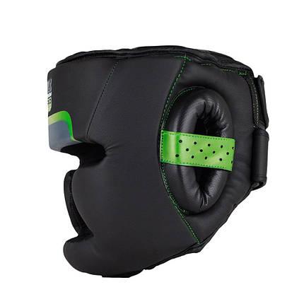 Боксерський шолом Bad Boy Pro Series 3.0 Full Green L, фото 2