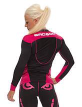 Рашгард женский с длинным рукавом Bad Boy Sphere Black/Pink XL, фото 3