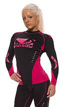 Рашгард женский с длинным рукавом Bad Boy Sphere Black/Pink XL, фото 2