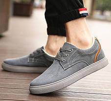 Отличные утепленный мужские кроссовки, фото 3
