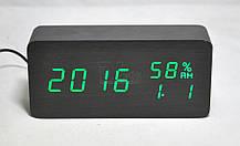 Электронные часыVST-862Sв деревянном корпусе, фото 3