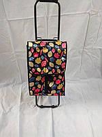 Тележка (складная) хозяйственная с сумкой
