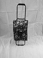 Хозяйственная сумка на колесиках полностью металлический каркас