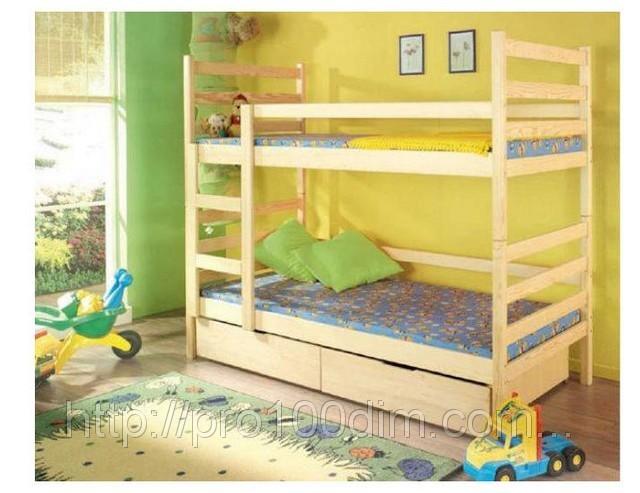 Двухъярусные кровати Бук