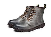 Отличные серые ботинки берцы, 39-42, фото 3