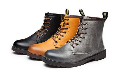 Отличные серые ботинки берцы, 39-42, фото 2