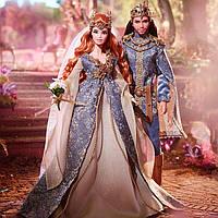 """Коллекционный набор кукол Барби """"Королевская Свадьба"""" / Barbie Faraway Forest Fairy Kingdom Wedding"""