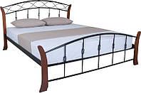 """Кровать подростковая двухспальная Melbi """"Летиция Вуд"""""""